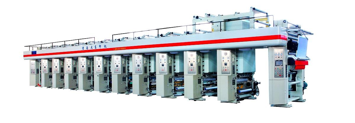YDJ150E机组式凹版印刷机