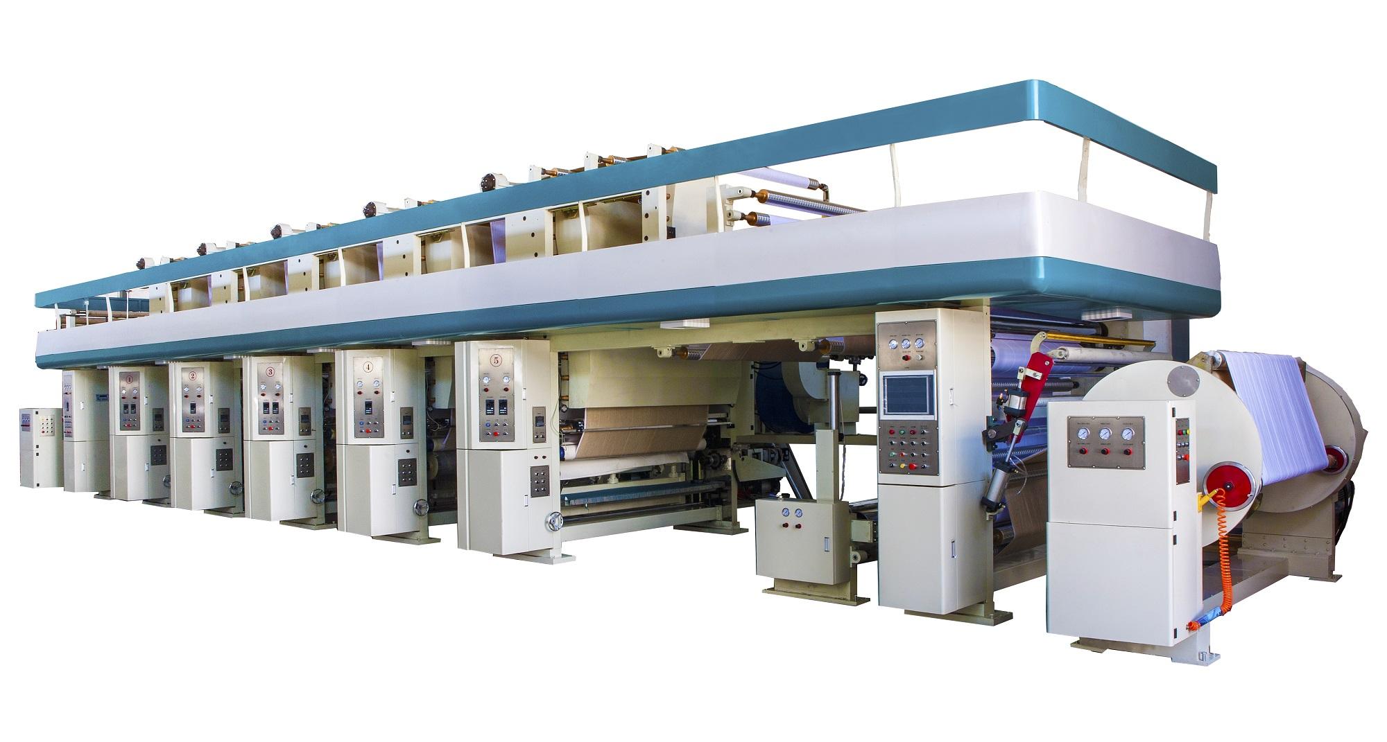 PVC印刷涂布机   电子轴