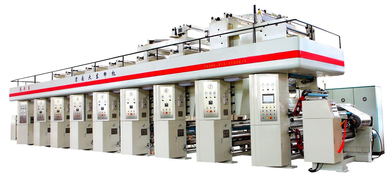YDJZ paper plastic gravure press