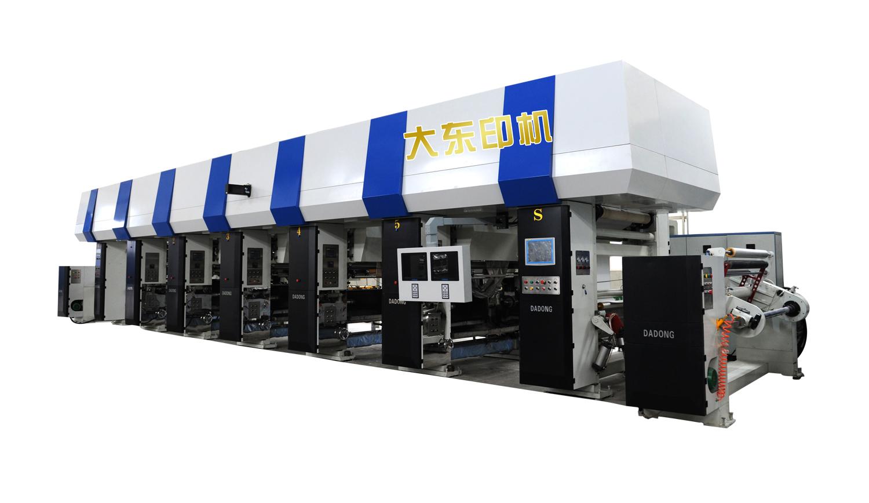 SPC地板膜电子轴印刷机